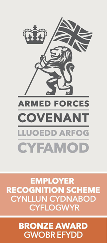 Armed Forces Covenant Employer Recognition Scheme 2019 Bronze Award